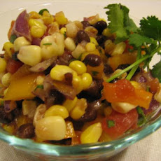 Balsamic Black Bean and Corn Salsa
