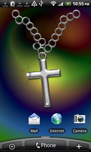 Silver Crucifix Necklace
