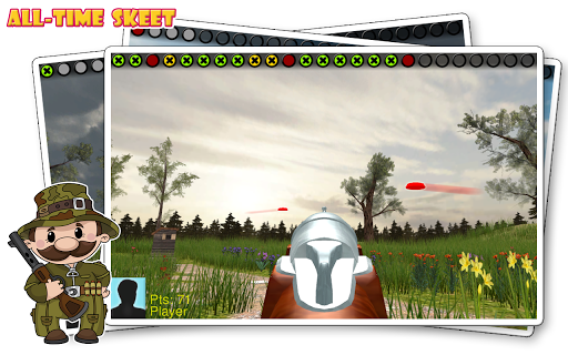 All-Time Skeet - screenshot