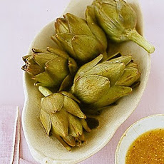 Baby Artichokes with Warm Vinaigrette