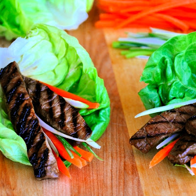 Asian Beef Lettuce Cups