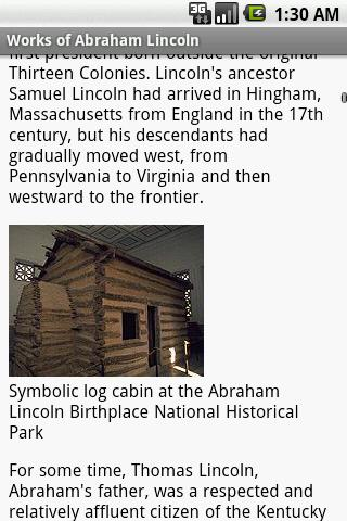 玩書籍App|Works of Abraham Lincoln免費|APP試玩