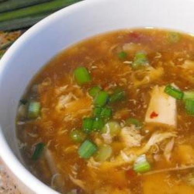 Szechuan-Style Hot and Sour Chicken Soup