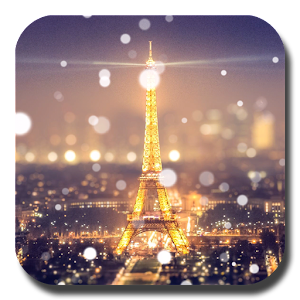 Paris Night Light LWP