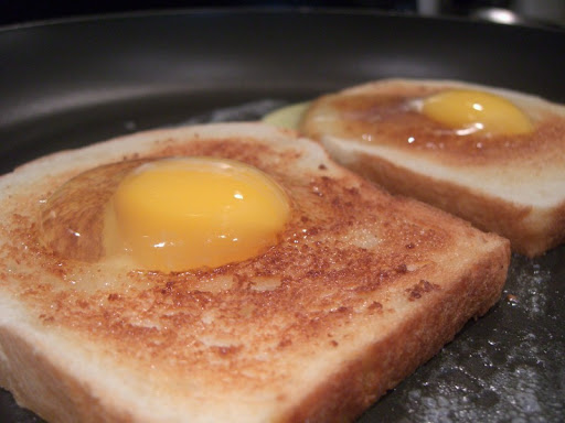 Egg-in-Toast