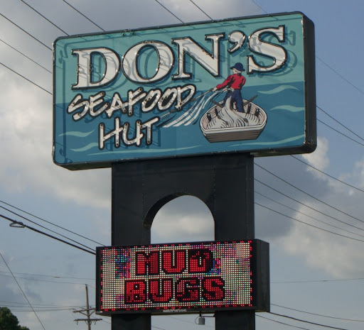 Don's Seafood Hut in Lafayette