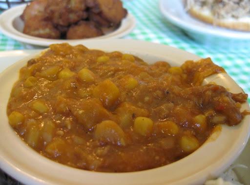 Brunswick Stew at Allen & Son