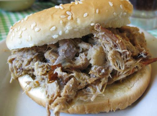 Pork Sandwich at Allen & Son