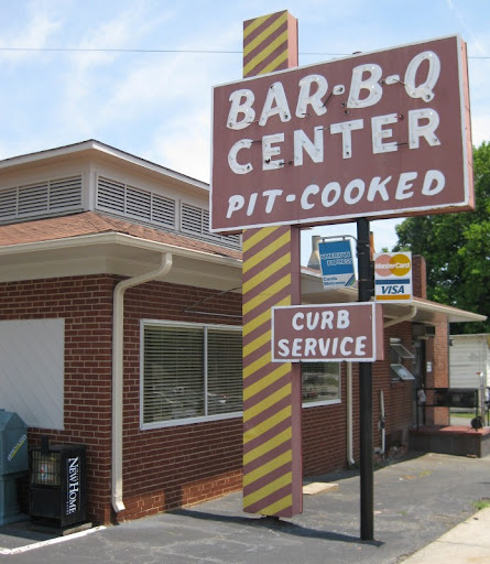 Barbecue Center in Lexington, North Carolina