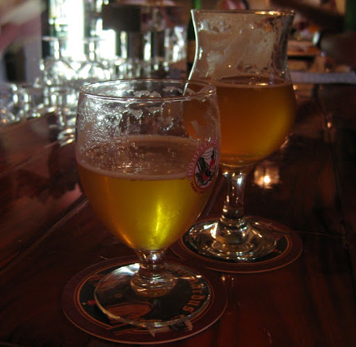 Houblon Chouffe and Pisgah Solstice at the Thirsty Monk