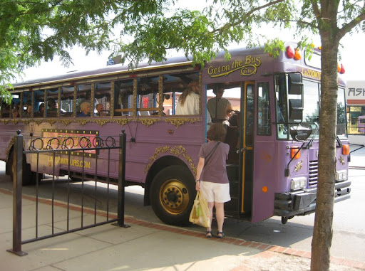 LaZoom Tour Bus in Asheville, North Carolina