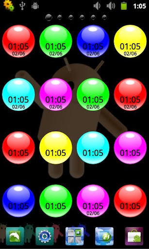 無料工具AppのCoral Digital Clock|記事Game