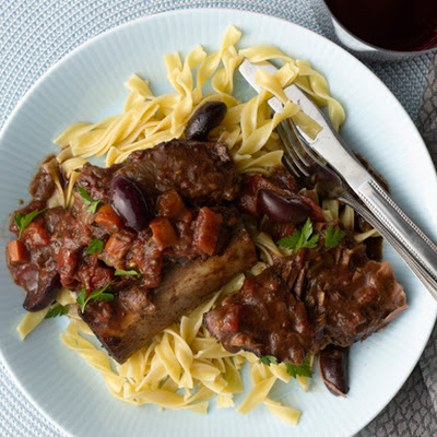 Provençal Short Ribs with Olives and Herbs