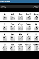 Screenshot of ChordBookk (Guitar Chords)