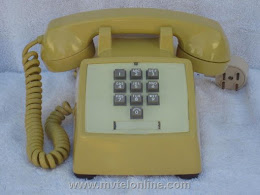 Desk Phones - Western Electric 1500 Yellow 1