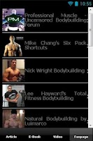 Screenshot of Body Builder Perfect