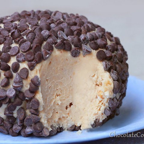 Chocolate Chip Peanut Butter Cheesecake Ball
