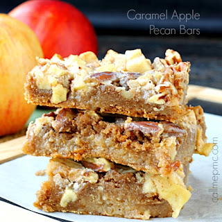 Caramel Apple Pecan Bars
