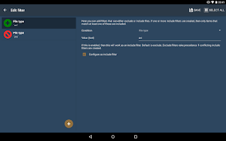 Screenshot of FolderSync Lite