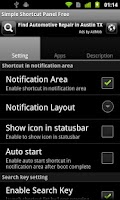 Screenshot of Simple Shortcut Panel Free