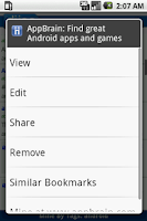 Screenshot of Diigo Bookmarks