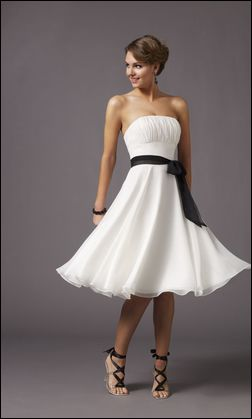 cheap prom dresses - White prom dresses 7