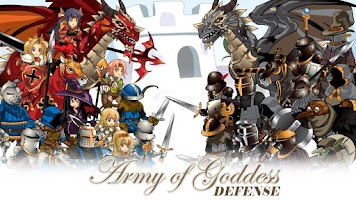 Screenshot of Army of Goddess Defense