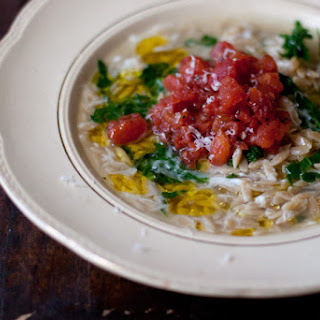 Spinach Tomato Orzo Soup Recipes
