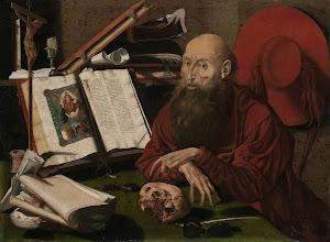 RIJKS: attributed to Marinus van Reymerswale: painting 1545