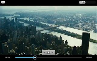 Screenshot of PowerDVD Mobile v3 for Ultra