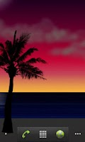 Screenshot of Sunrise Sunset Live Wallpaper