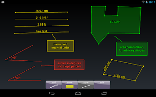 Screenshot of ImageMeter Pro - photo measure