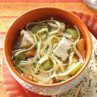 Hearty Homemade Chicken Noodle Soup