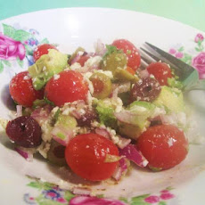 Avocado Tomato and Olive Salsa