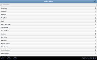 Screenshot of MusicGap