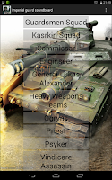 Screenshot of Warhammer 40k Imperial Guard