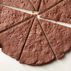 Chocolate Chipotle Shortbread