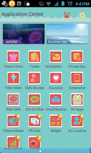 ZRomantic GO SMS Theme