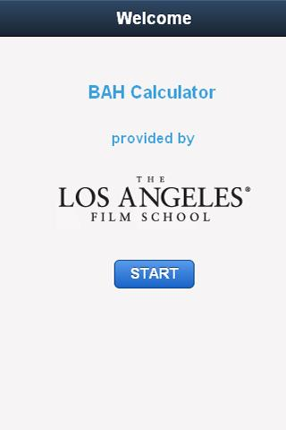 LAFS Veteran's BAH Calculator