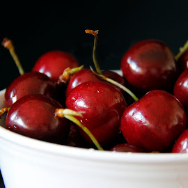 Life Is A Bowl Of Cherries by Darlene Stewart - Food & Drink Fruits & Vegetables (  )