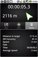 Screenshot of Walking Tracker
