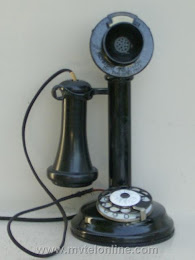 Candlestick Phones - American Electric Keystone Dial Candlestick 1