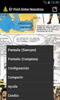 Screenshot of Él Vivió Entre Nosotros