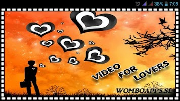 Screenshot of Video Ecards Love Edition