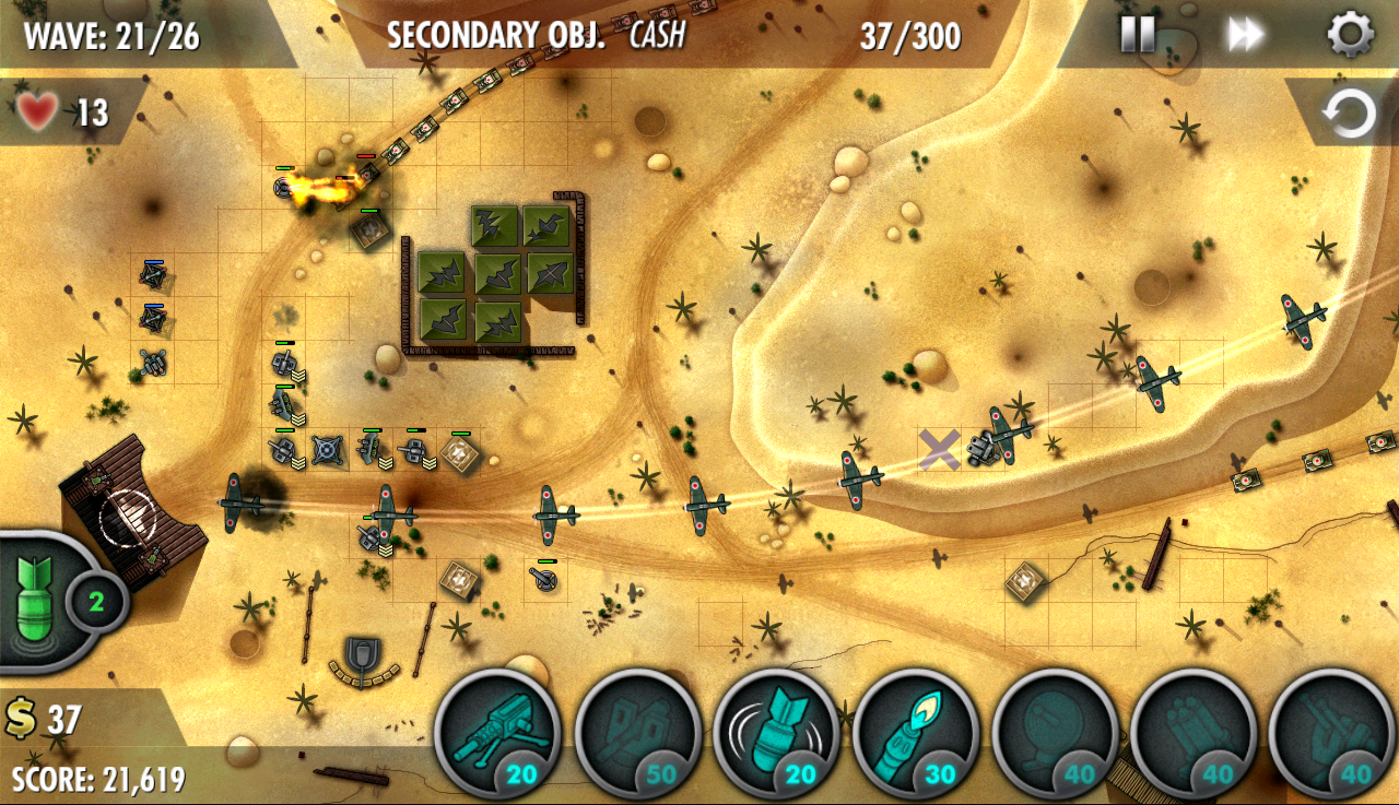 iBomber Defense Pacific Screenshot 12