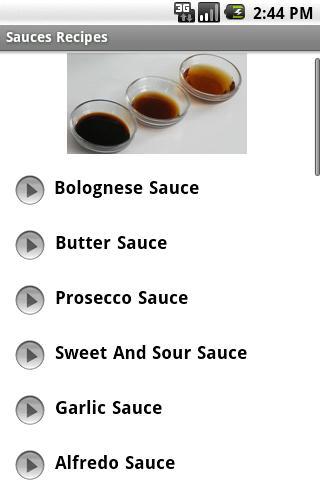Home Made Sauces Recipes