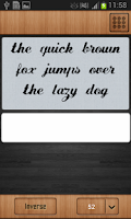 Screenshot of Pencil Font Style