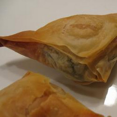Feta And Herb Filo Triangles