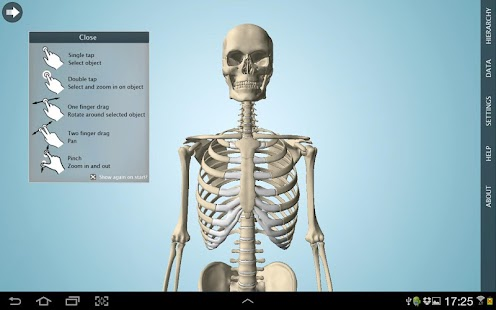 Screenshots  Anatomy 3D Pro - Anatronica