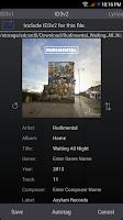 Screenshot of Music Tagger -Tag Editor